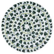 Magic Garden Foliage -tarjoiluvati Ø 33 cm Valkoinen-vihreä
