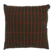 Pieni Tiiliskivi tyynynpäällinen 40x40 cm Tummanvihreä-punainen